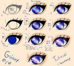 Step by Step - Galaxy eye TUTORIAL by Saviroosje