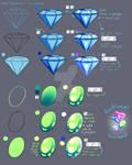 Step by Step - Diamond Gem Stone TUTORIAL