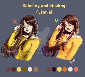 Tutorial: Coloring and Shading + VIDEO