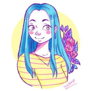 Stripes - Huion Tablet try-out