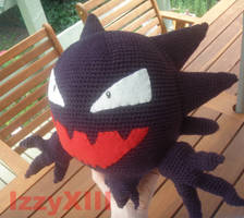 Pokemon - Haunter crochet doll by IzzyXIII