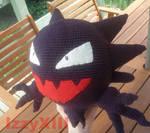 Pokemon - Haunter crochet doll