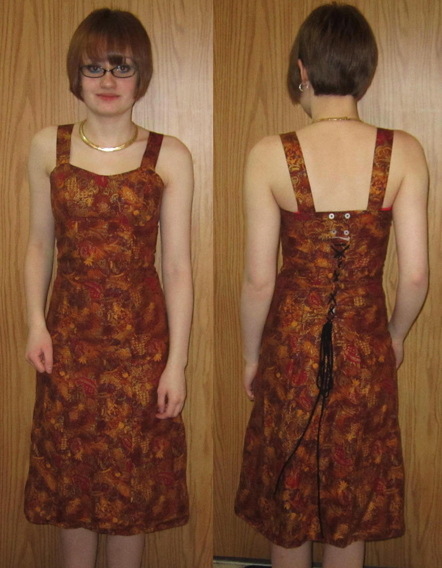 Thanksgiving Dress by gaypurpledinosaur