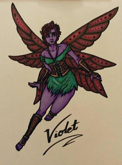 Violet by gaypurpledinosaur