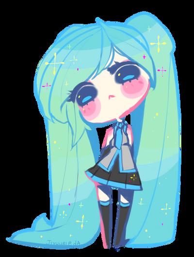 Little Miku. Pagedoll by Jiyuuri