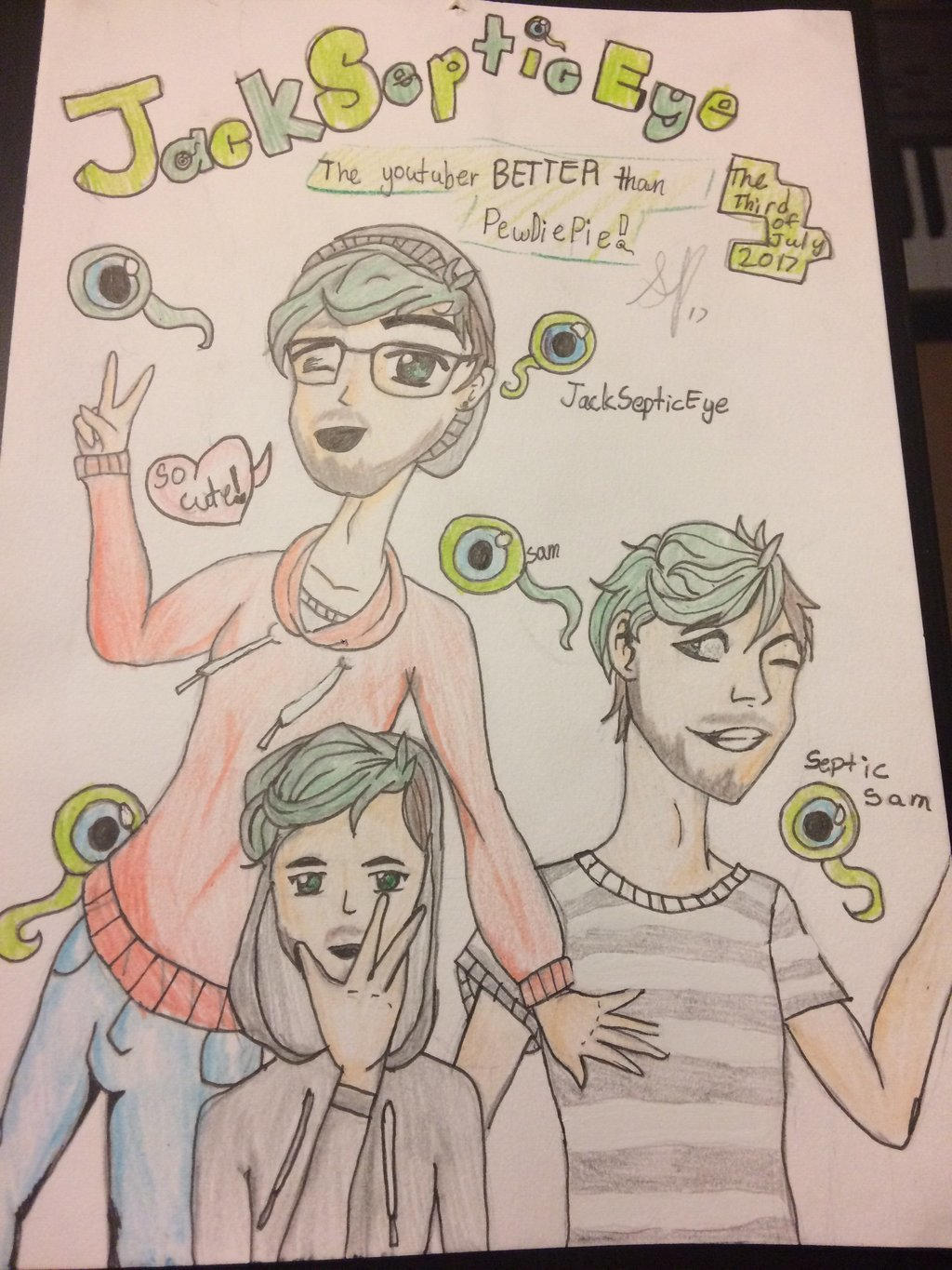 JACKSEPTICEYE ( why!! Its too much now!!) by pinkielora
