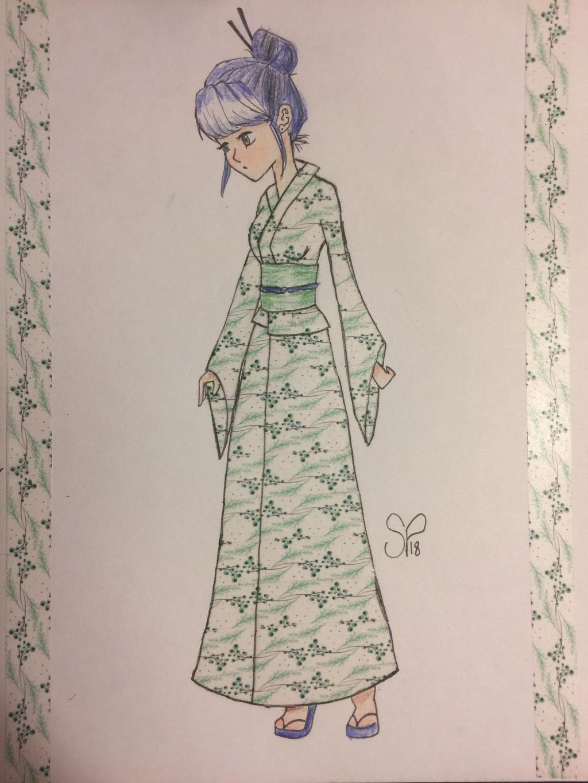 Kimono  by pinkielora