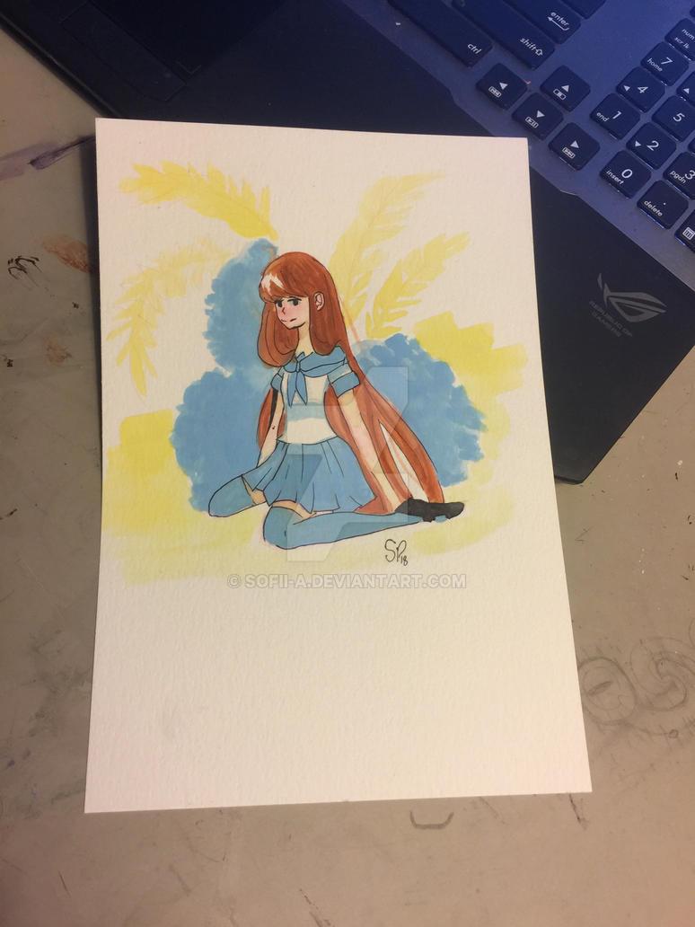 Some School Girl by pinkielora