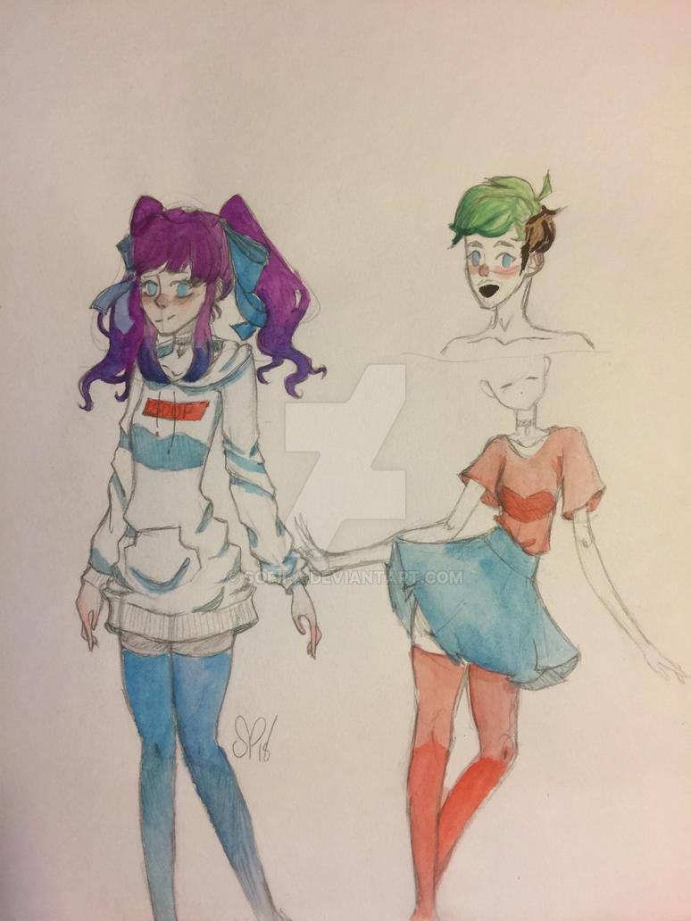 Sketch  idk by pinkielora