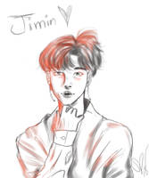 Jimin Sketch by sofii-a