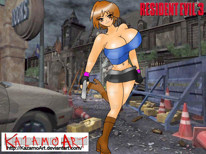 Jill Valentine - Resident evil by kazamoArt