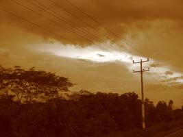 Brave sky by teft