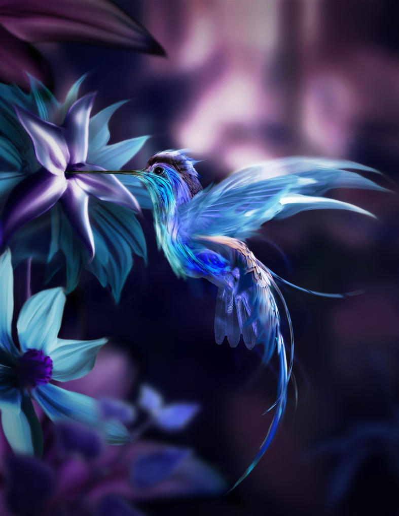 Pandora Bird By Mikekaestner