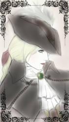Lady Maria Bloodborne  by Cainhurst