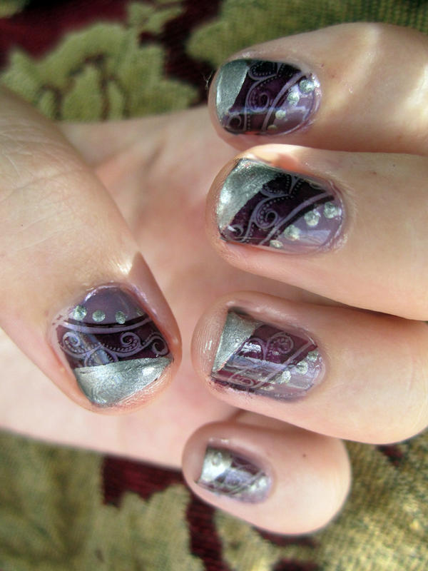 Elegant Nail Design by soyoubeauty