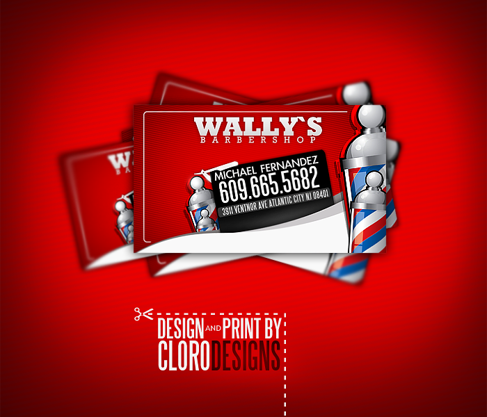 Barbershop business cards by clorodesign on deviantart barbershop business cards by clorodesign cheaphphosting Images