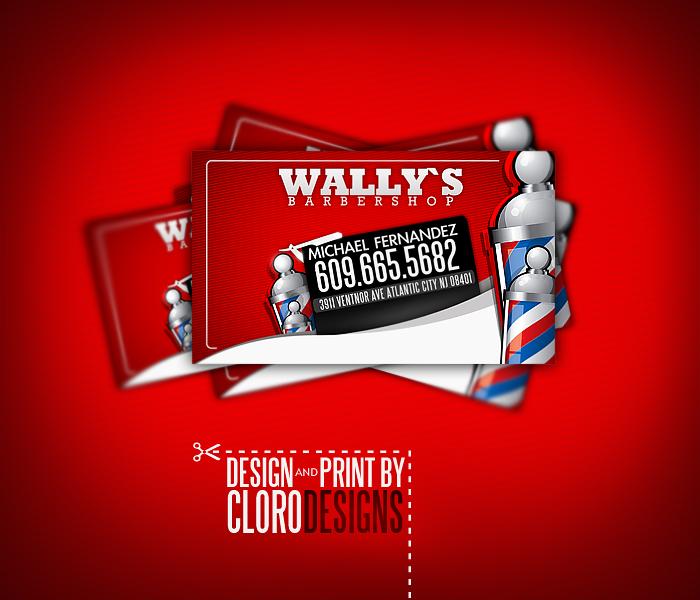 barbershop business cards by CloroDesign on DeviantArt