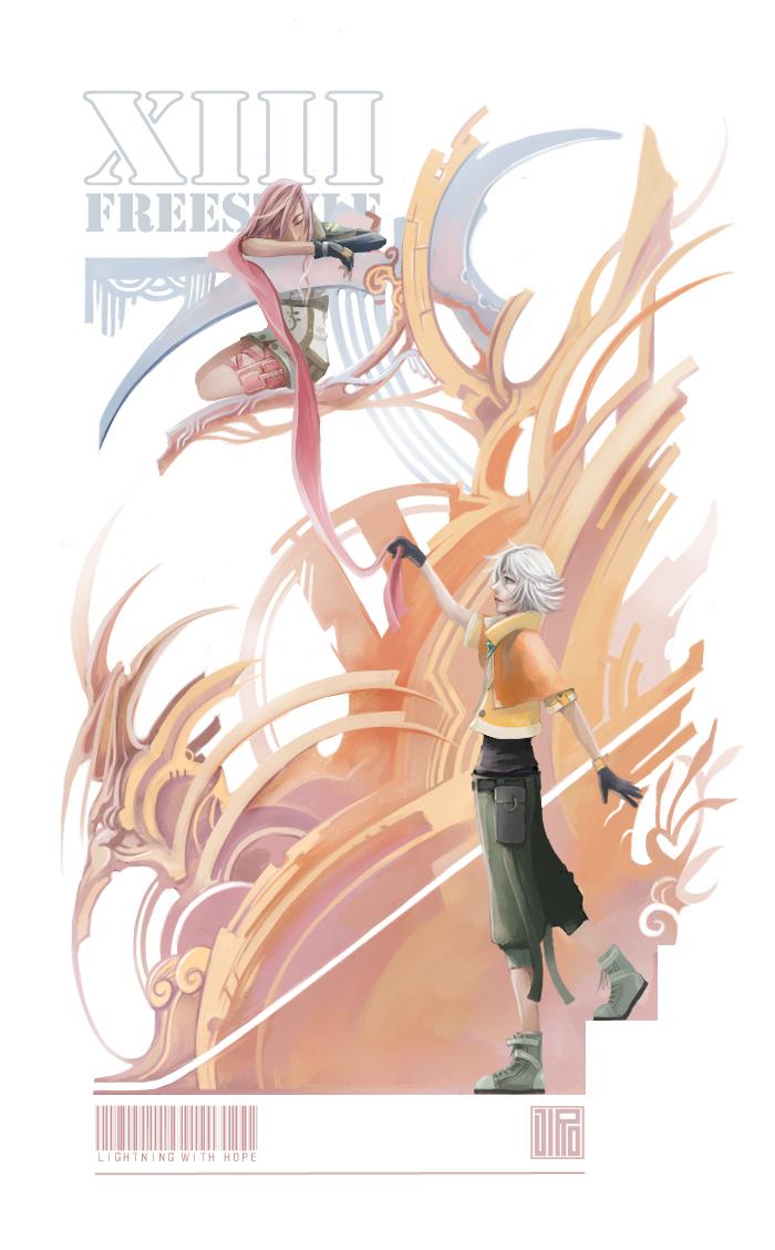 XIII FREESTYLE - LightningHope by jirito