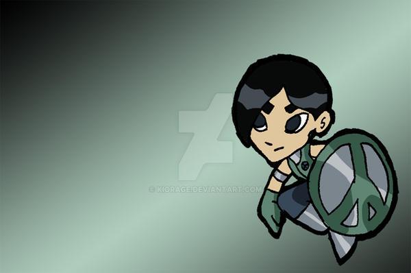 PeaceMaker - Chibi Titans by Kiorage
