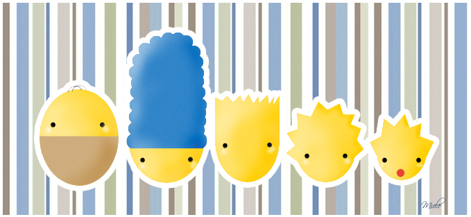 Cute Simpsons by Miielle