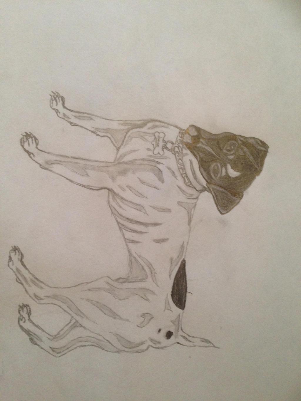 Zombie dog! by lunae11