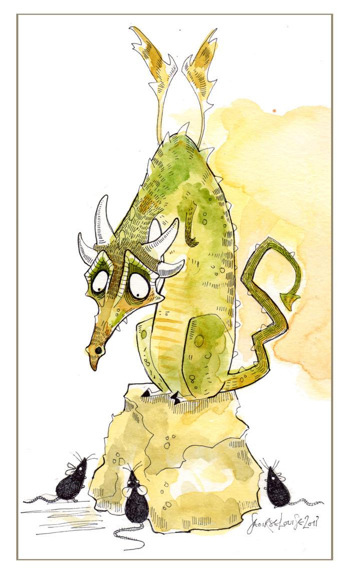 dragon illustration by sugarkoma - photo #20