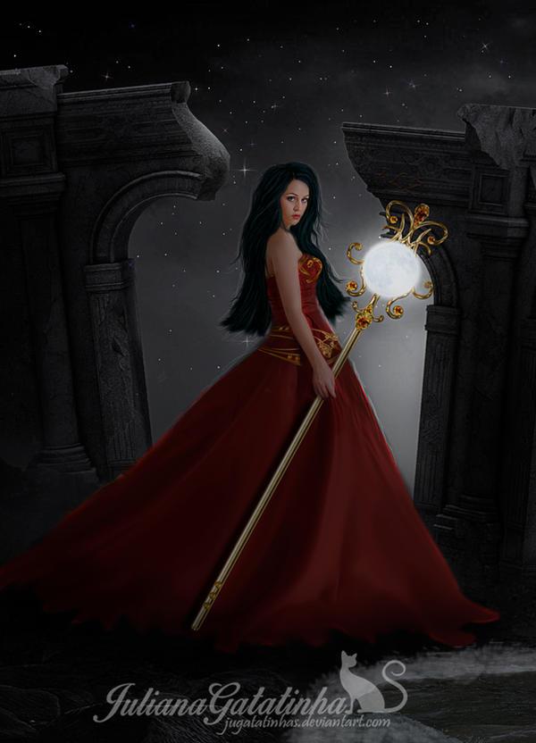 Moon Lady by jugatatinhas