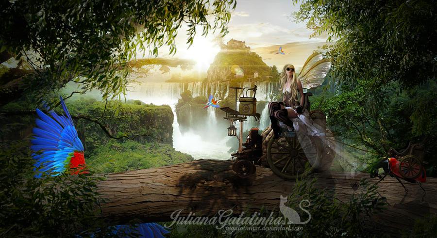 Steampunk world by jugatatinhas