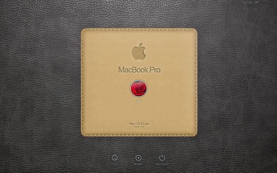 login screen MacbookPro