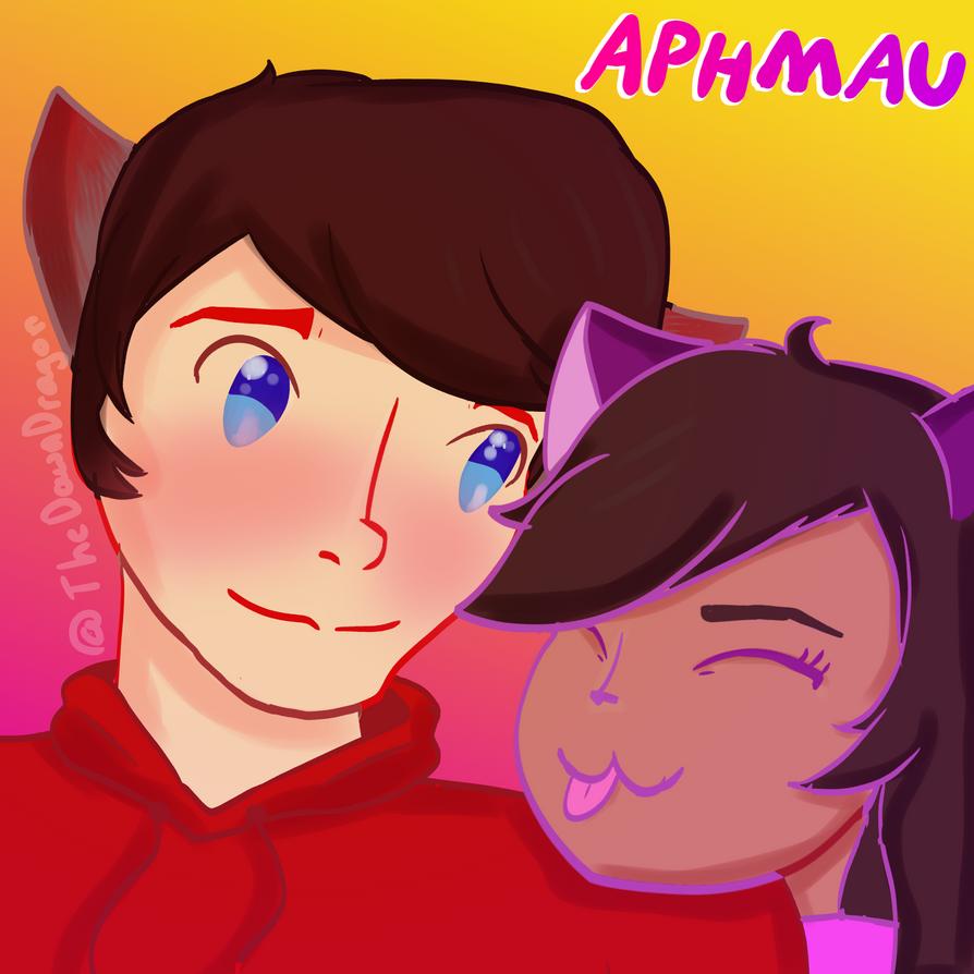 Aphmau: Arron and Aphmau by TheDawnDragon