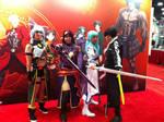 Sword Art Online cosplayers