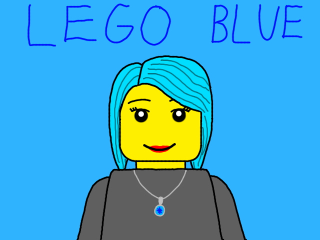 LEGO DestinyBlue by Qrow92