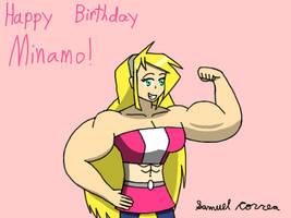 Happy Birthday Minamo by Qrow92