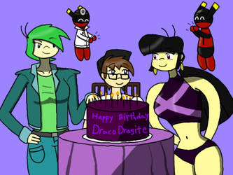 Party for DracoDragite by Qrow92