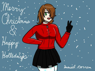 Merry Christmas Rosalia by Qrow92