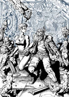 Comix zone Ink by ANDREYGORKOVENKO