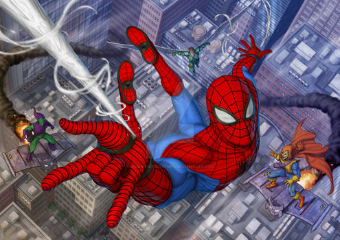 CHASING THE SPIDERMAN
