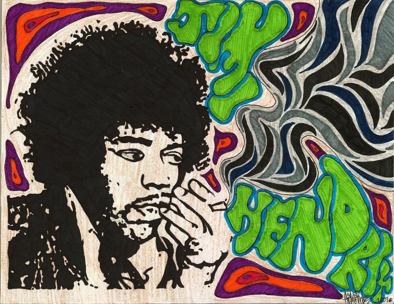 Jimi hendrix by ruthey on deviantart - Jimi hendrix wallpaper psychedelic ...