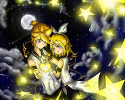 Yellow Star Beats:Set it free, star, heart beat by LunaLayosa-1031