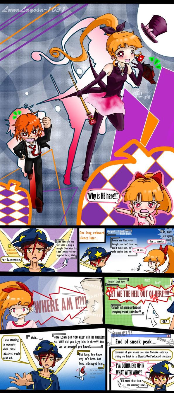 Sneakpeek: Internet Majo Ryou's consply shop! REDS by LunaLayosa-1031