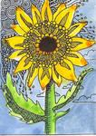 ATC Dottie Sunflower