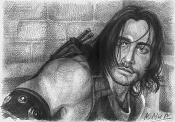 Prince of Persia portrait by Natamur
