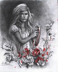 Alice in Wonderland by Natamur