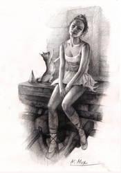 Circus actress by Natamur