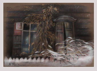 Winter window by Natamur