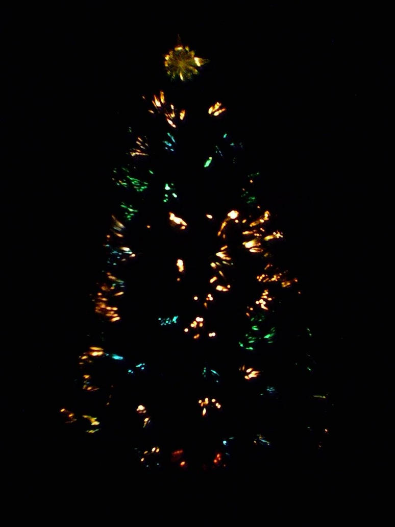 Christmas Tree Light Up Colors In The Dark by LadyCatgirl on ...