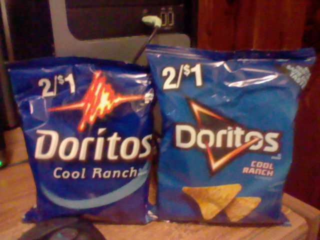 Doritos Logos (Old Or New) by LadyCatgirl