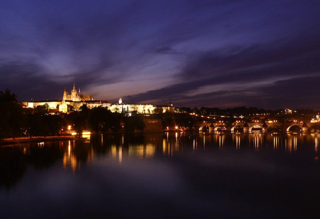 Prague at night 4
