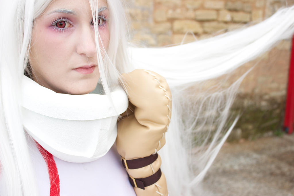 Deadman Wonderland cosplay Shiro by moonlightspirit