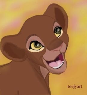 Aisha cub by teejyart